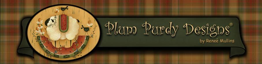 Plum Purdy – Renee Mullins