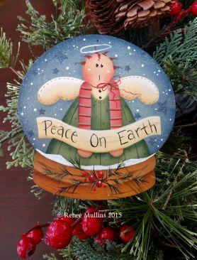 #679 Peace On Earth (Ornament Pattern/KIT)