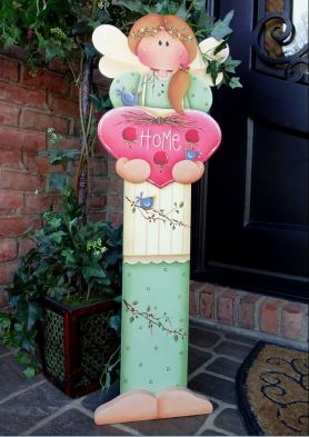 #689 Spring Angel Porch Greeter (PATTERN)