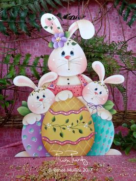 "#707 ""Happy Easter Trio""  (PATTERN)"