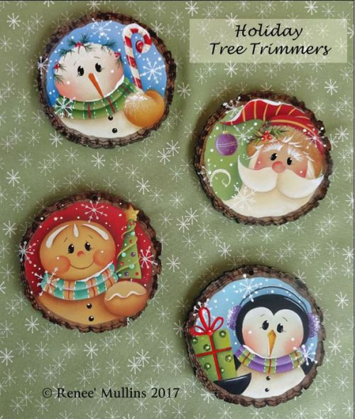 #715 Holiday Tree Trimmers  (PATTERN)