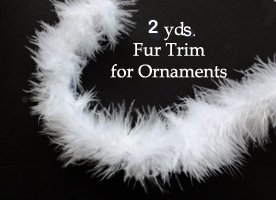 Fur Trim  (2 yds)