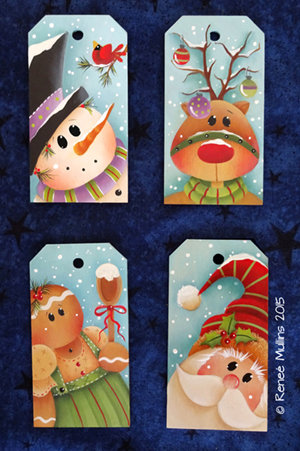 "#687 ""Merry Merry Tags""  (PATTERN)"