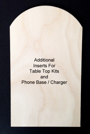 Inserts (Table Top or Phone Stand)