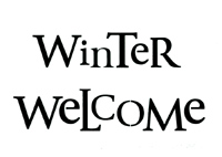 Winter Welcome (STENCIL)